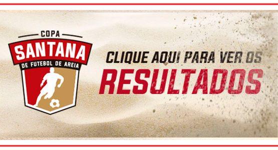 Tabelas e resultados 1 Copa Santana de futebol de areia